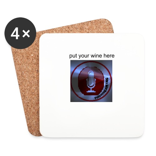 FuriousGamers wine coasters - Coasters (set of 4)