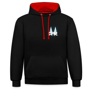 Casual At Racing Mens Hoodie - Contrast hoodie