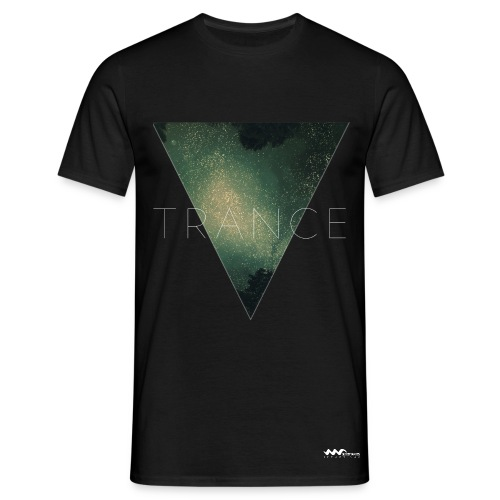 Trance Triangle T-Shirt Black - Men's T-Shirt