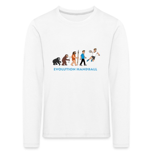 Handball Evolution - Kinder Premium Langarmshirt