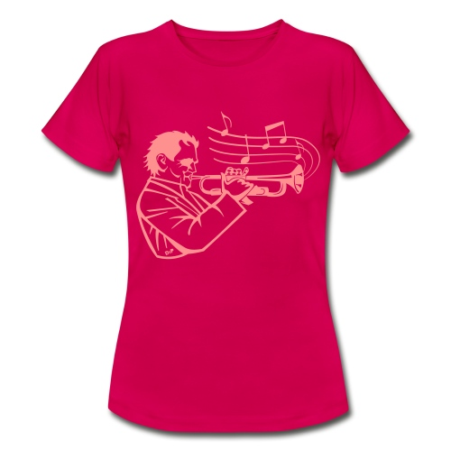 Trumpet Player - Vrouwen T-shirt