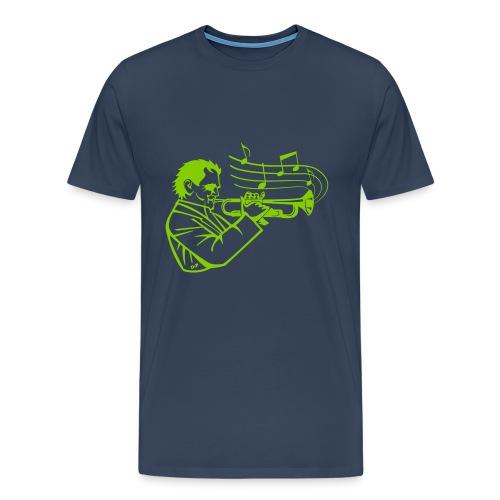 Trumpet Player - Mannen Premium T-shirt
