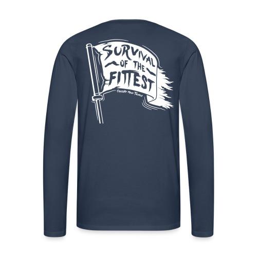 Männer T-Shirt (atmungsaktiv) #8 - Männer Premium Langarmshirt