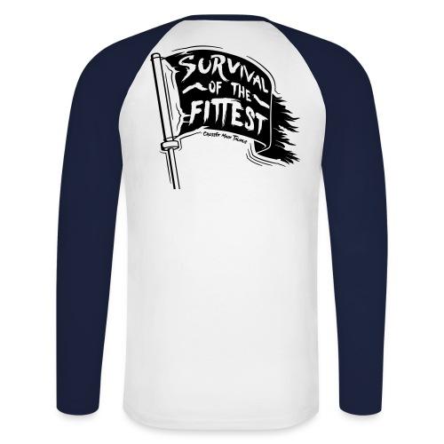 Männer Longsleeve #8 - Männer Baseballshirt langarm