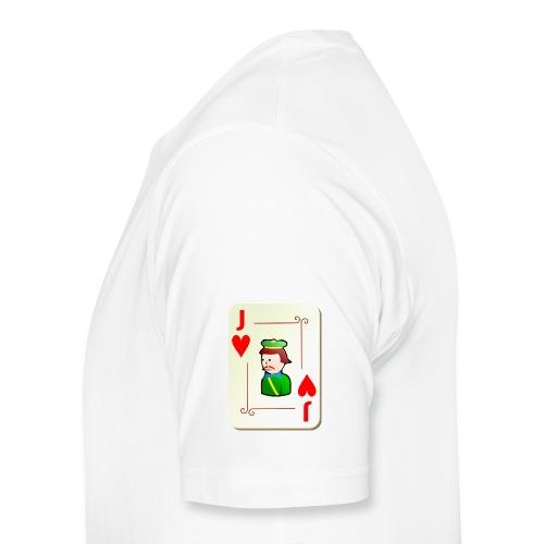 Sleeve Print T-Shirt - Men's Premium T-Shirt