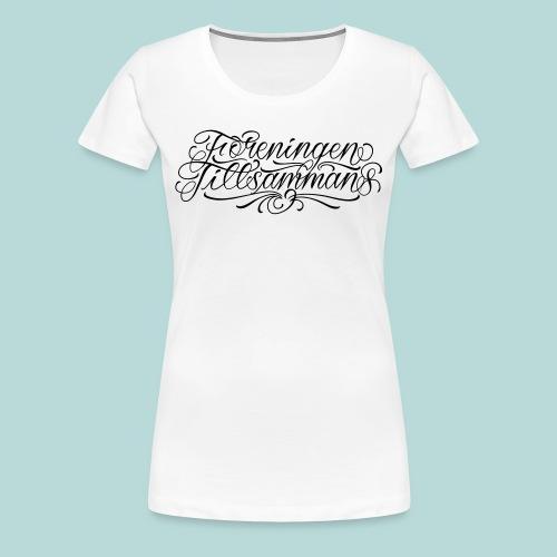 Tillsammans T-shirt - Premium-T-shirt dam