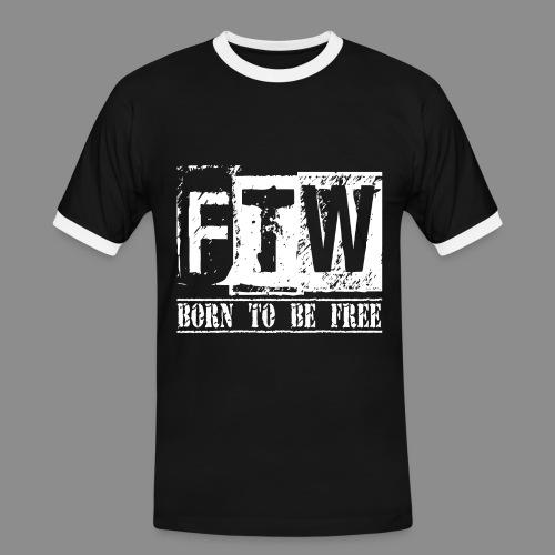 F.T.W - Camiseta contraste hombre
