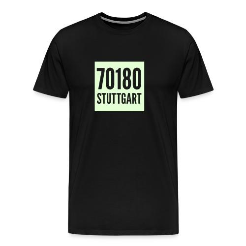 70180 leuchtet im Dunkeln - Männer Premium T-Shirt