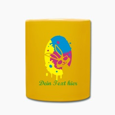 colorful graffiti Easter Egg Mugs & Drinkware