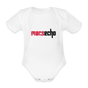 MarsEcho für Babys - Baby Bio-Kurzarm-Body