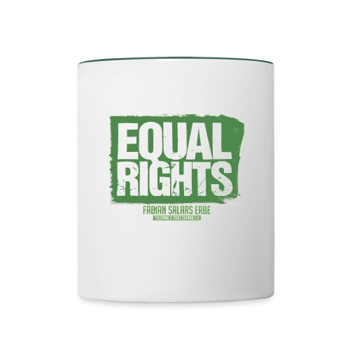 Tasse EQUAL RIGHTS - Tasse zweifarbig