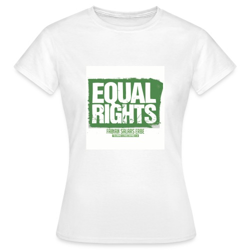 Damen T-Shirt EQUAL RIGHTS - Frauen T-Shirt