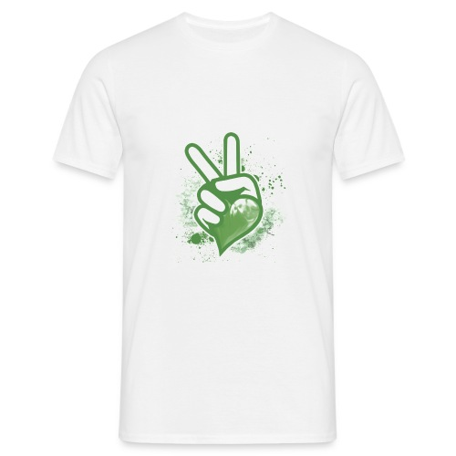 Herren T-Shirt PEACE - Männer T-Shirt