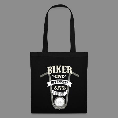 Biker live Free - Bolsa de tela