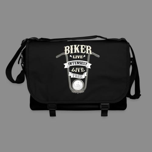 Biker live Free - Bolso de bandolera