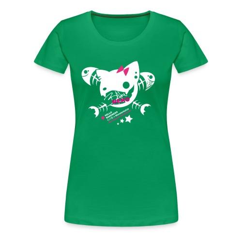 jolly roger neko - Frauen Premium T-Shirt