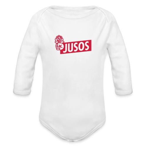 JUSOS Baby-Body - Baby Bio-Langarm-Body