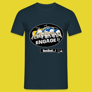 ENGAGE  - DANSTONC..! - T-shirt Homme