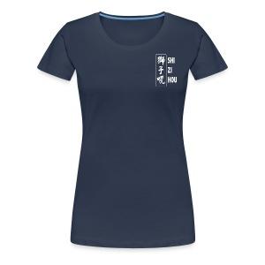 Official Shizi Hou T-shirt (navy blue) - Vrouwen Premium T-shirt