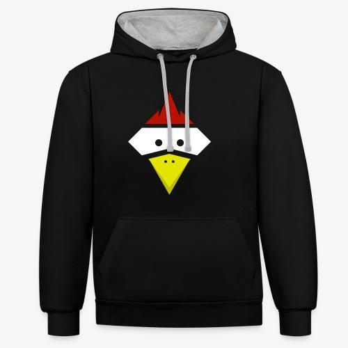 Chicken Pulli - Kontrast-Hoodie