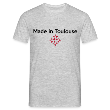 tee shirt made in toulouse croix occitane tee shirts spreadshirt. Black Bedroom Furniture Sets. Home Design Ideas
