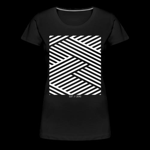 Kdh Pattern Est. 2010 Shirt Womens - Women's Premium T-Shirt