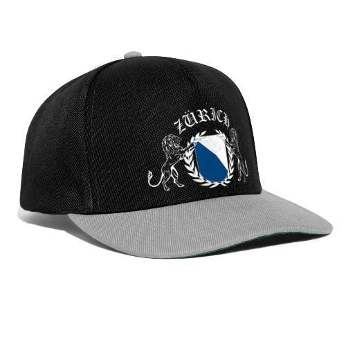 ZÜRICH Snapback Cap schwarz / grau - Snapback Cap