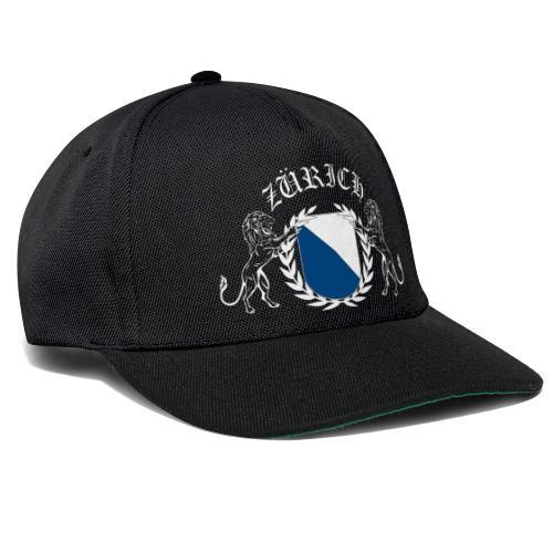 ZÜRICH Snapback Cap schwarz - Snapback Cap