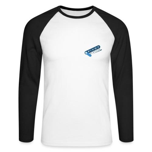 Baseball Pivot Long-Sleeved T-Shirt - Men's Long Sleeve Baseball T-Shirt