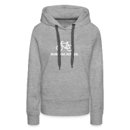 Pullover & Hoodies ~ Frauen Premium Kapuzenpullover ~ burn fat, not oil  Hoodie Frauen