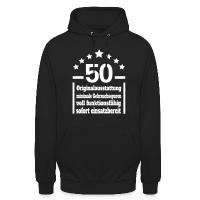 Eigenschaften 50. Geburtstag Kapuzenpullover