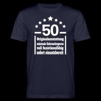 Eigenschaften 50. Geburtstag Bio T-Shirt