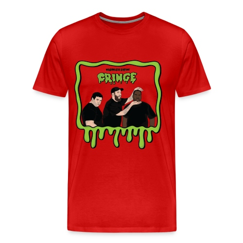 Wreckless Eating Cringe - Men's Premium T-Shirt