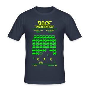Race Invaders - Men's Slim Fit T-Shirt