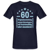 Eigenschaften 60. Geburtstag Bio T-Shirt