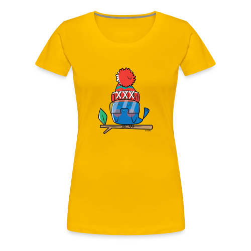 Birdy - Vrouwen Premium T-shirt