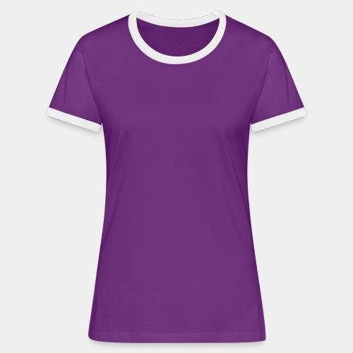 Tee shirt contraste Femme ADG - T-shirt contrasté Femme