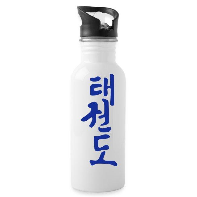 Drinkfles Taekwondo teken