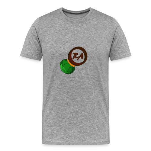 MENS EMERALD RING/STEELGREEN - Men's Premium T-Shirt