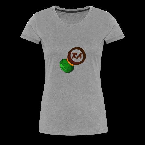 LADIES EMERALD RING/STEELGREEN - Women's Premium T-Shirt