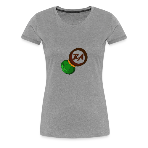 LADIES EMERALD RING/STEELGREEN - Women's Premium T-Shirt