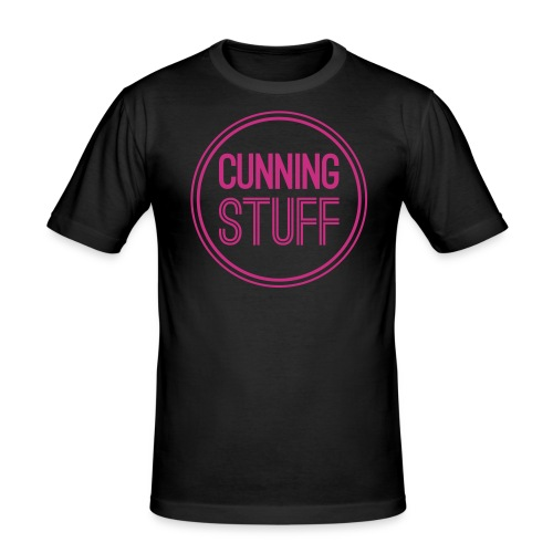 Cunning Stuff Shirt - Männer Slim Fit T-Shirt