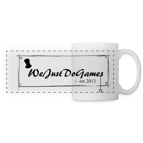 WeJustDoGames Mug - Panoramic Mug