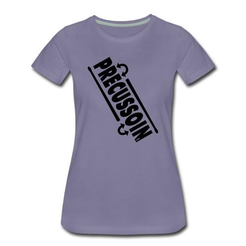 Slagwerk variatie  - Vrouwen Premium T-shirt