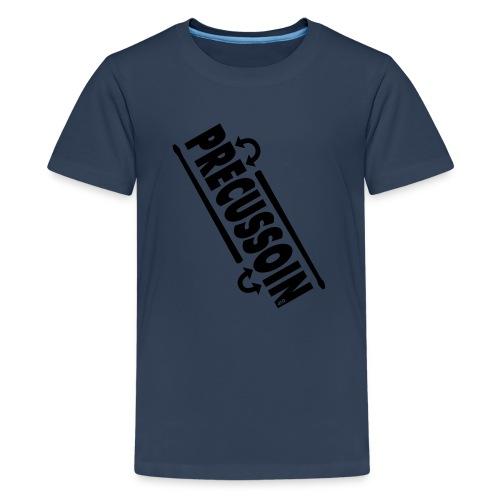Slagwerk variatie  - Teenager Premium T-shirt