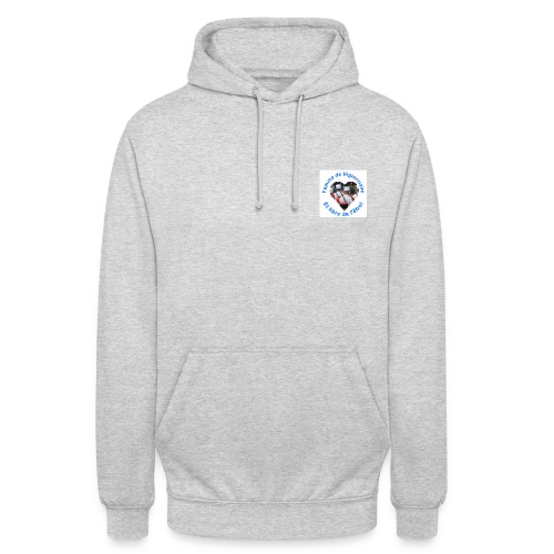 Sweat shirt logo - Sweat-shirt à capuche unisexe