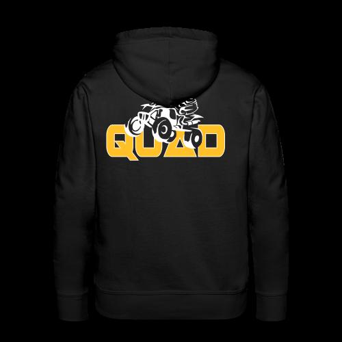 Sweat capuche quad - Sweat-shirt à capuche Premium pour hommes