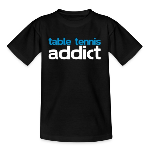 ADDICT TO PINGPONG - T-shirt barn