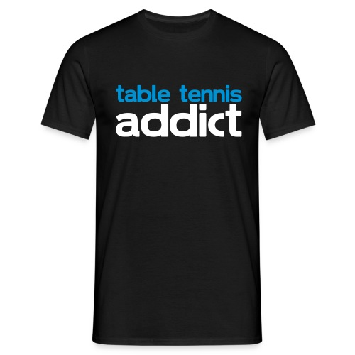 ADDICT TO PINGPONG - T-shirt herr