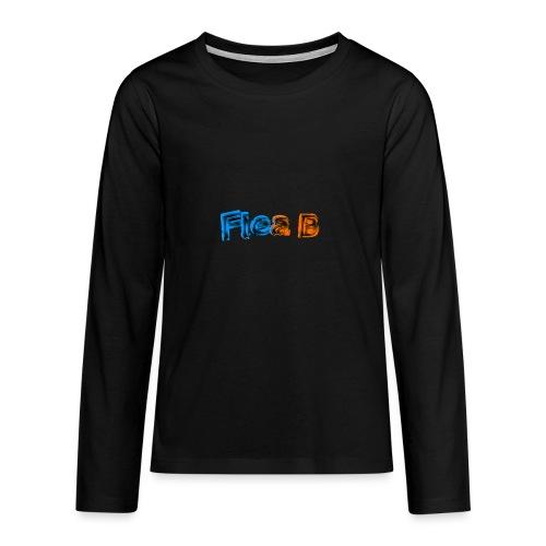 Long sleeve (Teens) - Teenagers' Premium Longsleeve Shirt